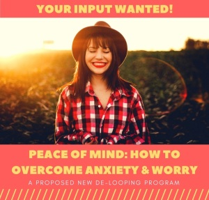 INPUT WANTED - Peace of Mind course