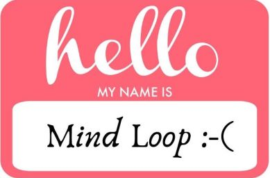 Mind Loop nametag